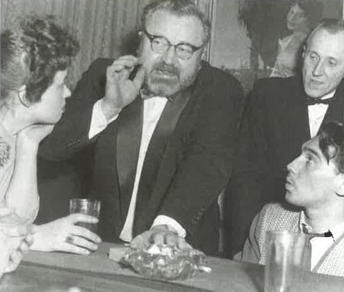 Jiřina Bohdalová s Janem Werichem