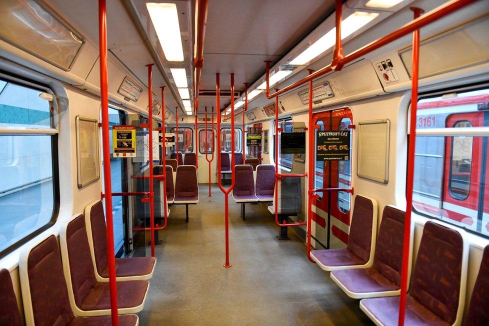 Pražské metro.