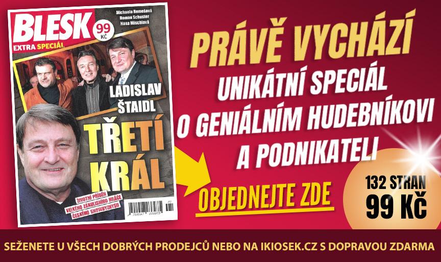 Extra speciál Třetí král o Ladislavu Štaidlovi