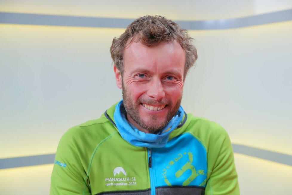 Hostem pořadu Blesk Podcast byl horolezec Jan Trávníček.