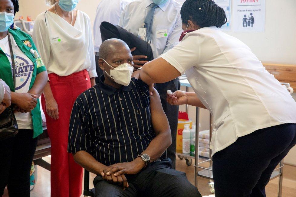 Očkování proti koronaviru v Africe