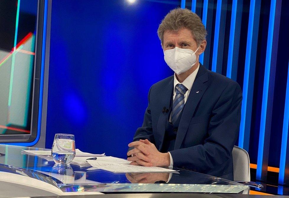 Šéf Senátu Miloš Vystrčil (ODS) v Partii na CNN Prima News (28.2.2021)