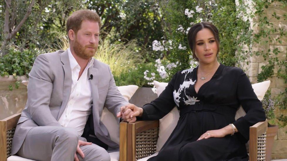 Vévodové ze Sussexu v ukázce z rozhovoru s Oprah Winfreyovou