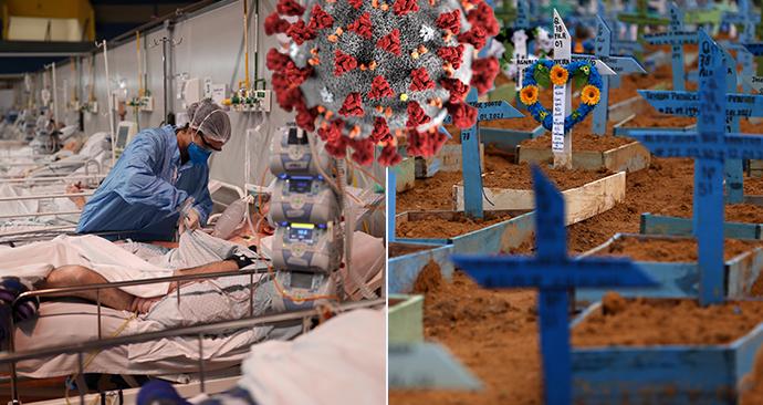 Koronavirus v Brazílii: Nemocnice jsou před zhroucením, ministr zdravotnictví viní mutaci koronaviru