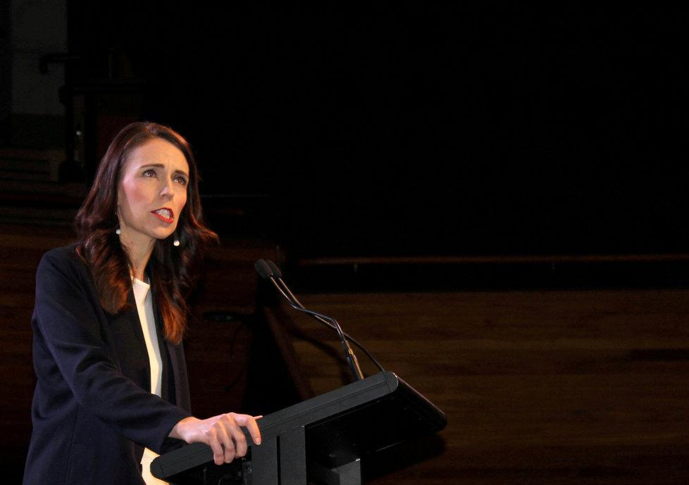 Koronavirus na Novém Zélandu: Premiérka Jacinda Ardernová.
