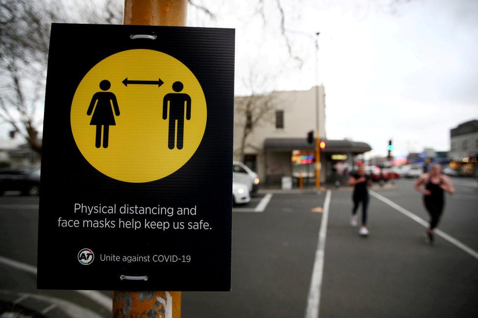 Koronavirus na Novém Zélandu: Velkoměsto Auckland je na týden v lockdownu, (2.03.2020).