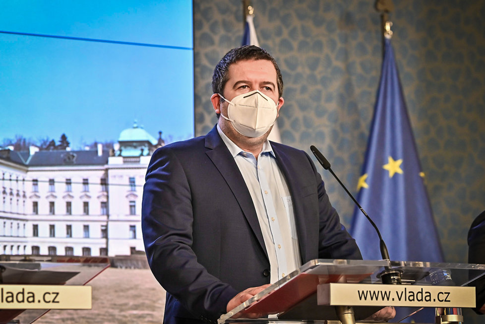 Jednání vlády:  Jan Hamáček (1.3.2021)
