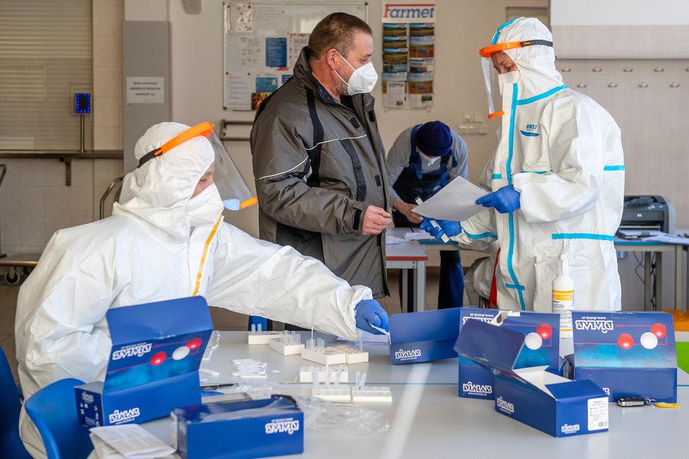 Testování ve firmách (ilustrační foto)