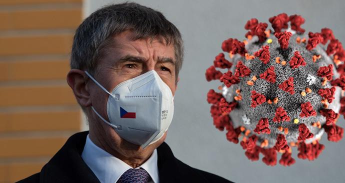 Premiér Andrej Babiš (ANO) sbírá v boji s koronavirem zkušenosti v zahraničí.
