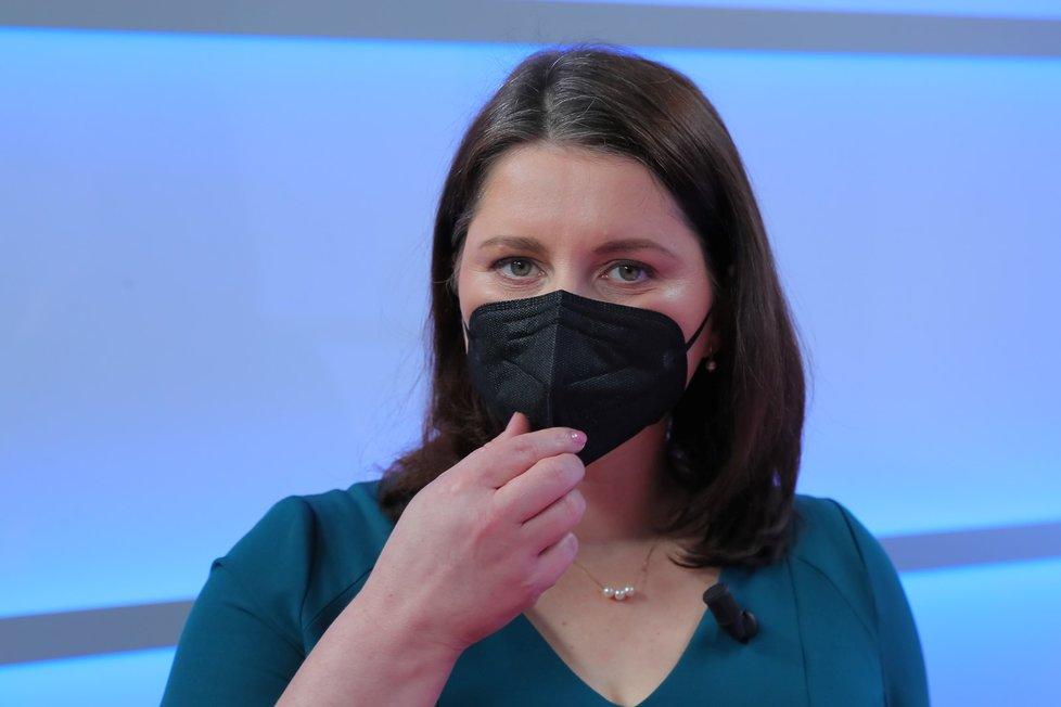 Ministryně práce a sociálních věcí a místopředsedkyně ČSSD Jana Maláčová byla hostem Blesk Zpráv v pořadu Epicentrum (9. 3. 2021).