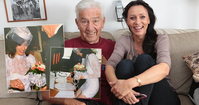 Heidi Janků zavzpomínala na svatbu s láskou svého života Ivošem Pavlíkem.