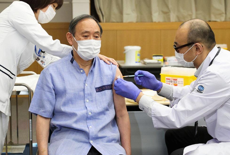 Koronavirus v Japonsku: Očkování.