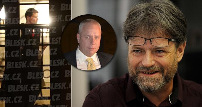 Nelegální party podnikatele Petra Bendy (ve výřezu) se účastnil i šéf teplické vazební věznice Petr Blažek.