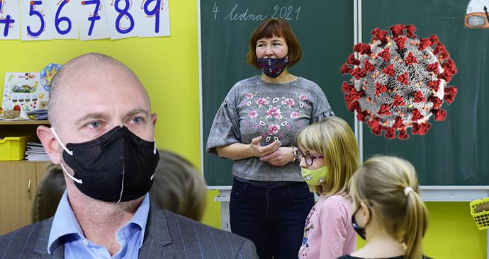 Koronavirus zabil v Česku už 31 učitelů. Většina se nakazila v práci, dokládají data.