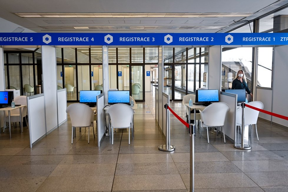 V kongresovém centru otevřela Praha nové metropolitní očkovací centrum.