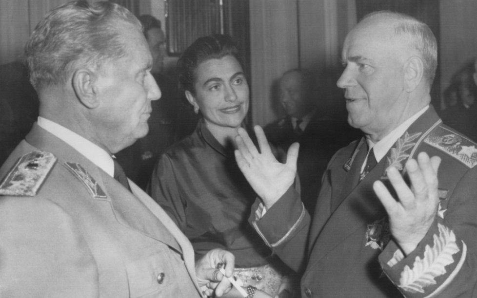 Jovanka Titoová s manželem