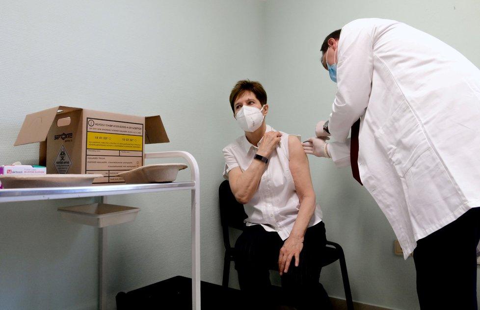Očkování v Budapešti