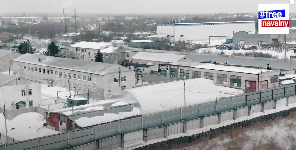 Trestanecká kolonie ve městě Porkov, kde je vězněn Alexej Navalnyj.