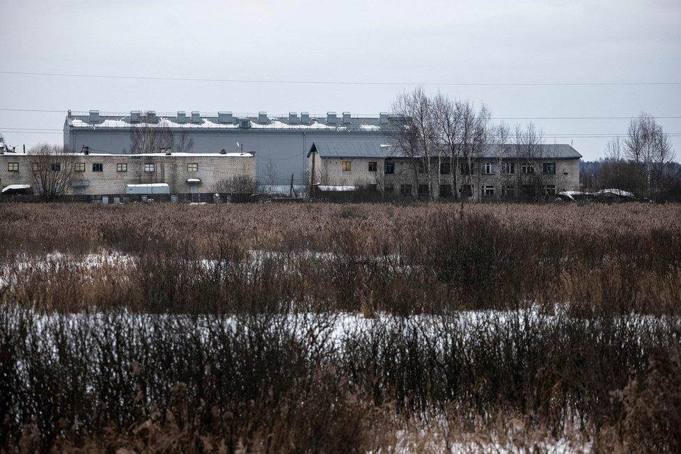 Trestanecká kolonie ve městě Porkov.