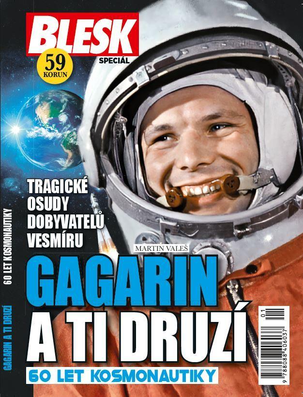 Gagarin a ti druzí: Nová kniha edice Blesk speciál