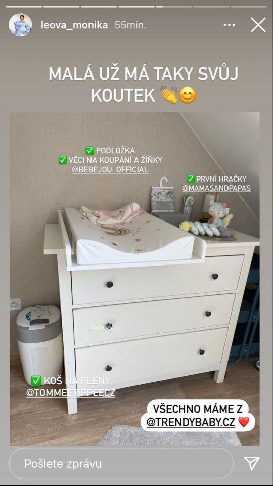 Monika Leová se před porodem pustila do rekonstrukce nového hnízdečka