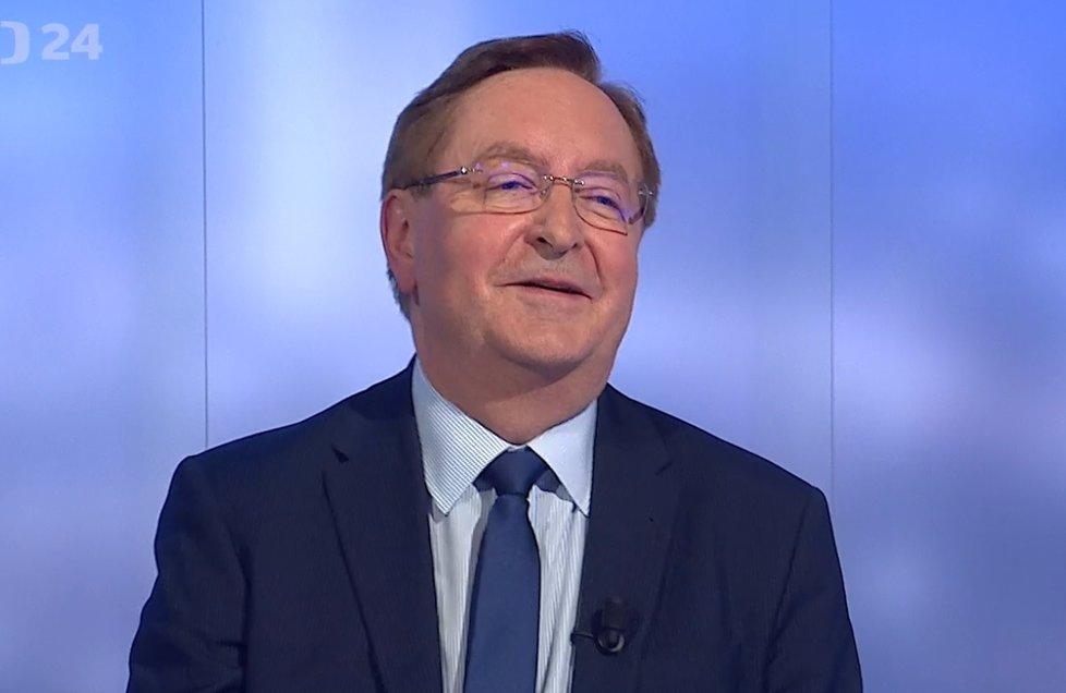 Ministr zdravotnictví Petr Arenberger v Událostech, komentářích (15.4.2021)