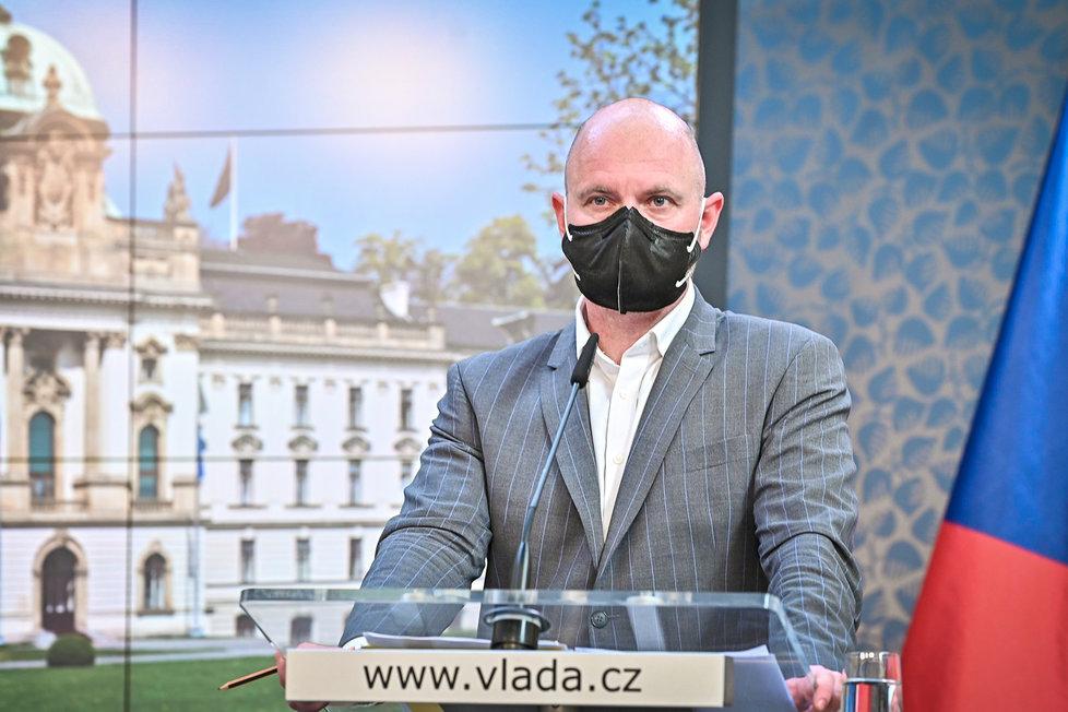 Vládní tiskovka: Robert Plaga (26.4.2021)