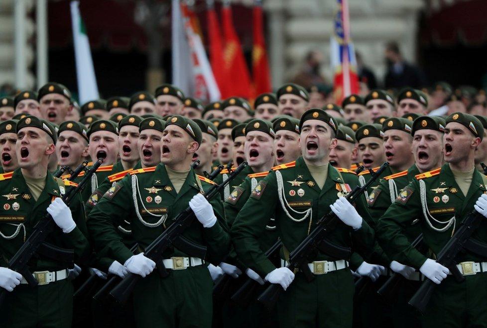 Oslavy 76 let od konce 2. světové války v Moskvě (9. 5. 2021)