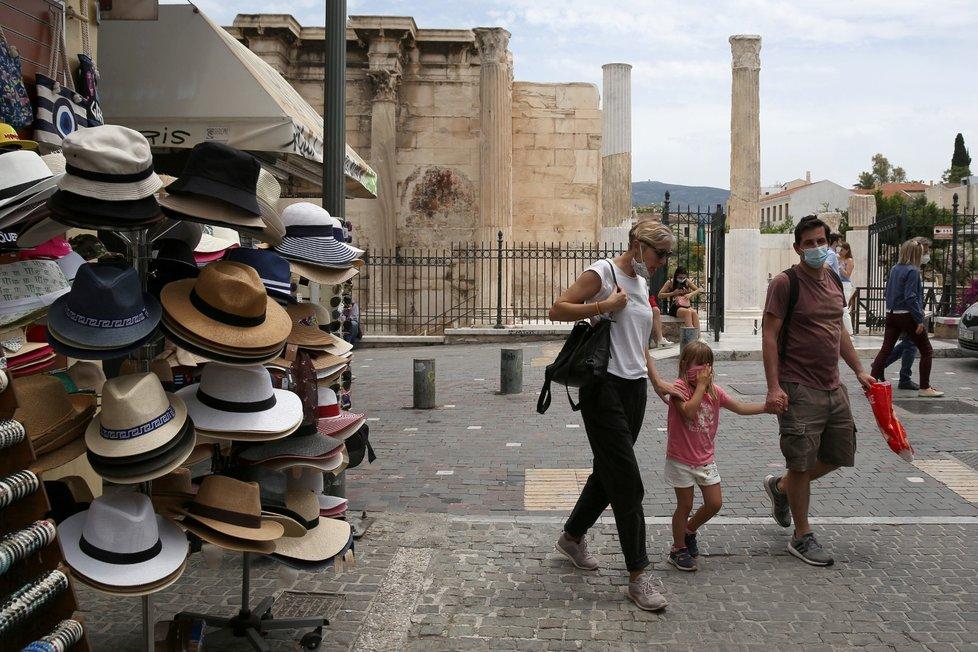 Do Řecka se vrátili turisté.