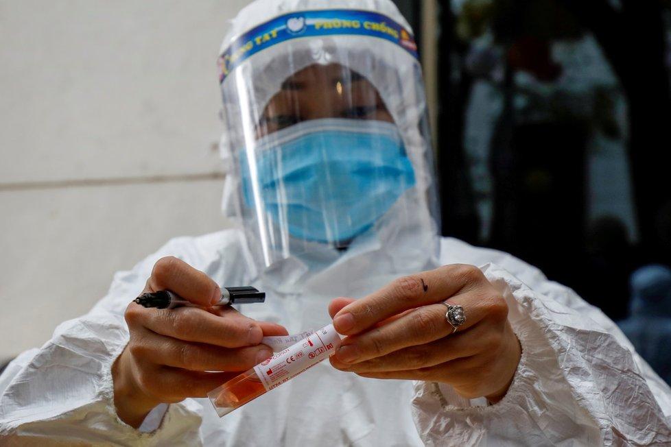 Koronavirus ve Vietnamu.