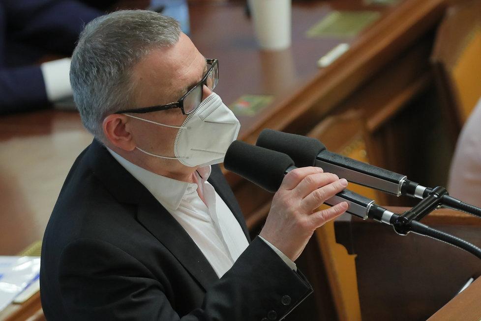 Jednání o nedůvěře vládě: Ministr kultury Lubomír Zaorálek (3.6.2021)