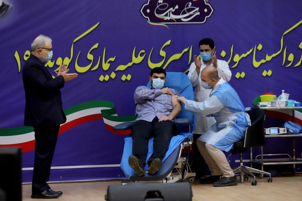 Koronavirus v Íránu: Očkování vakcínou Sputnik V.