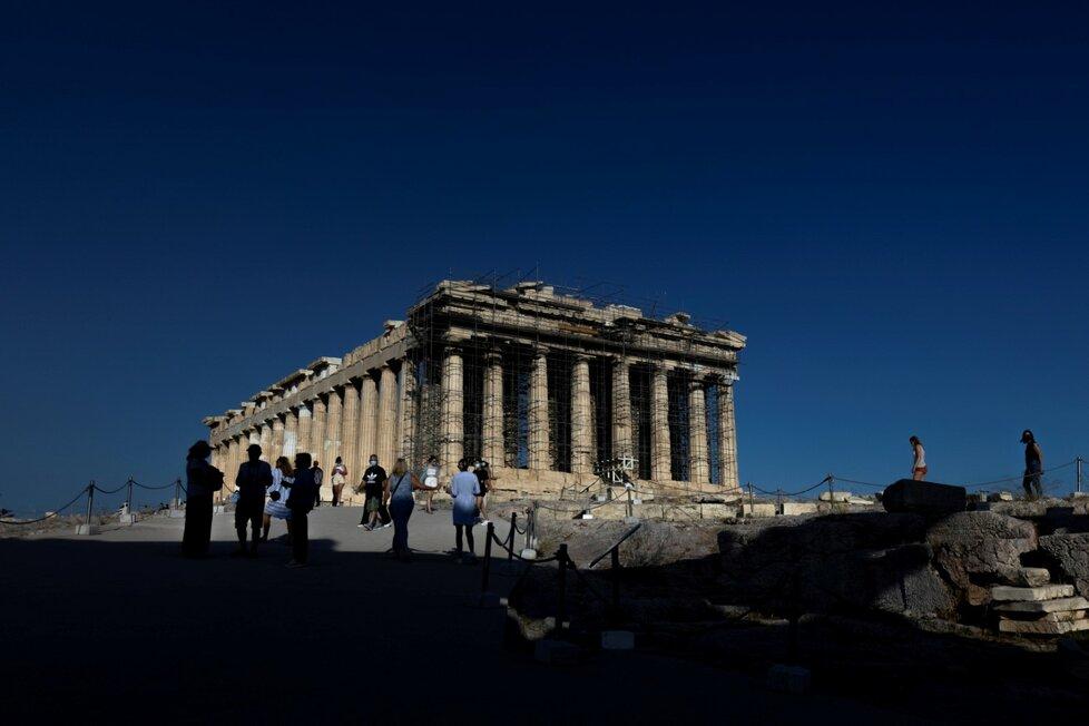 Řecko a covid.