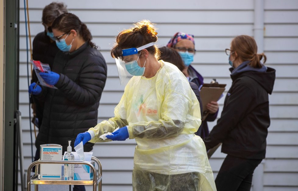 Koronavirus na Novém Zélandu