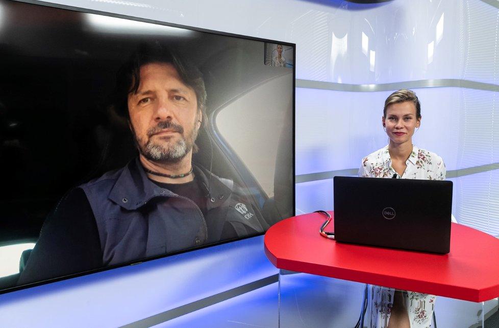 Epicentrum s Josefem Koláčkem, koordinátorem pomoci při mimořádných událostech z organizace ADRA 28.6.2021
