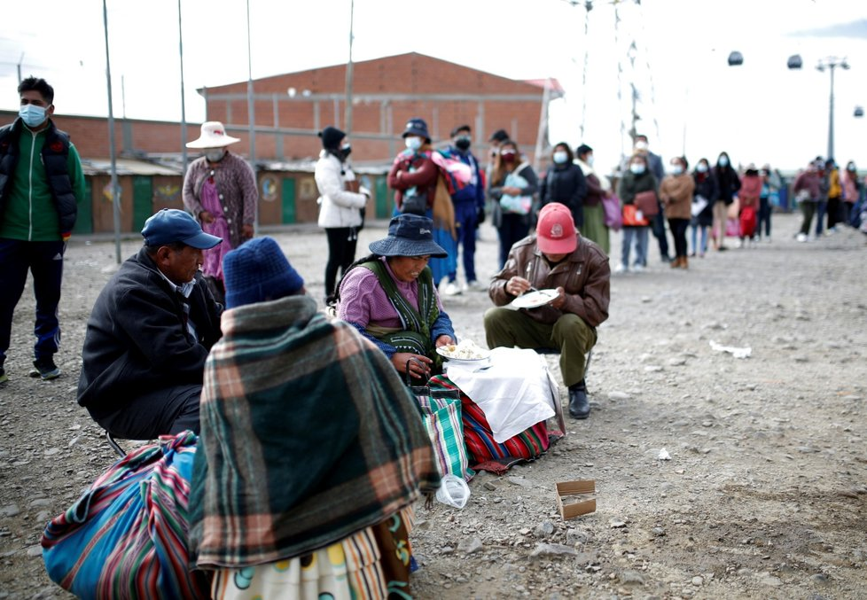 Očkování proti koronaviru v Bolívii
