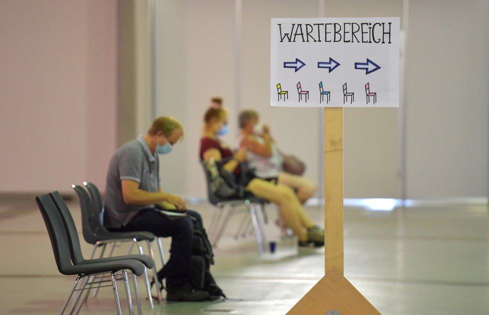 Očkování proti covidu-19 v německém Sasku (30. 7. 2021)