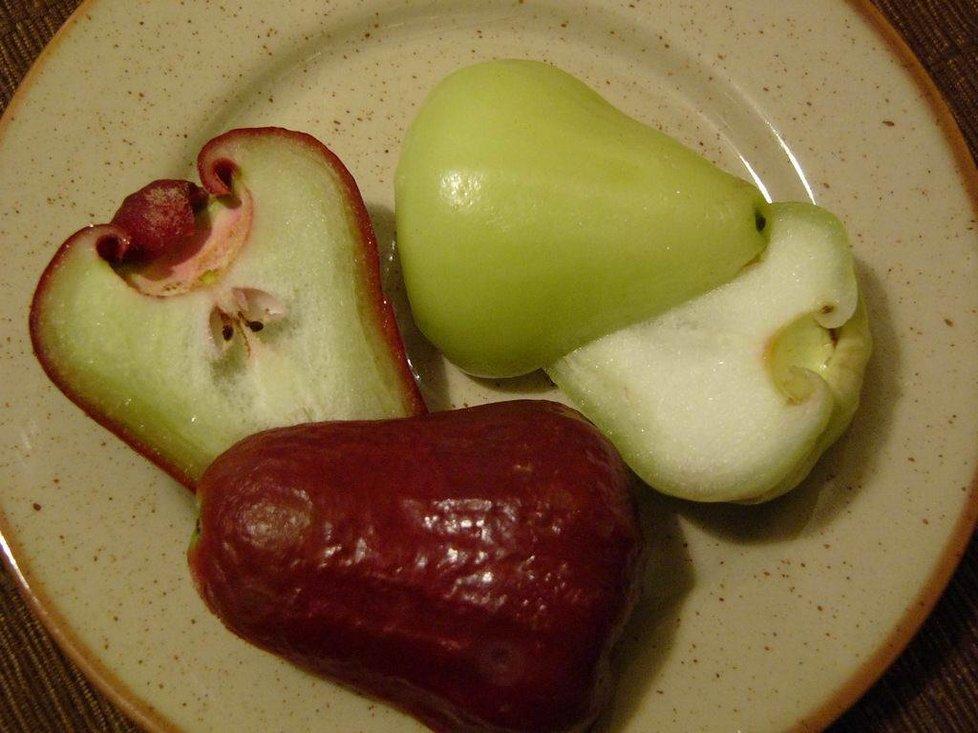 ...a další odrůda Way Apple