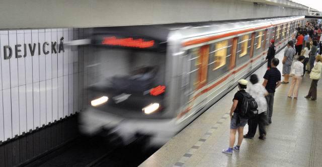 40 let od zprovoznění prvního úseku linky A pražského metra. (ilustrační foto)