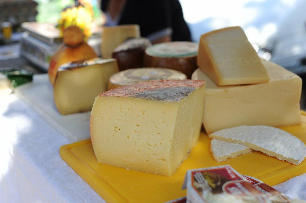 Nabídka farmářských sýrů