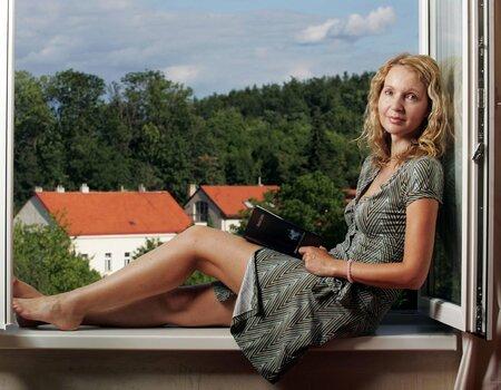 Údajný milenecký vztah s exprezidentem Václavem Havlem naznačuje také spisovatelka Irena Obermannová.