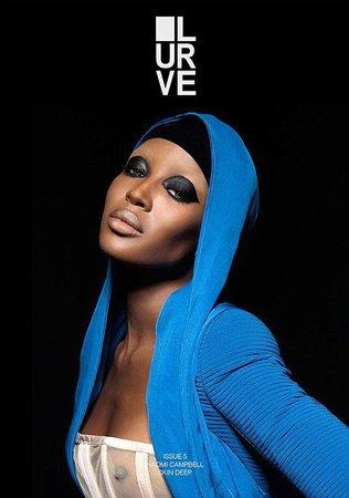 Naomi Campbell na obálce magazínu Lurve