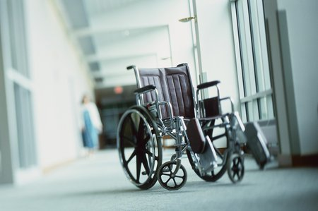 Invalidní vozík (ilustrační foto)