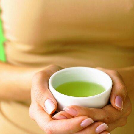 Zelený čaj je skvělý antioxidant.