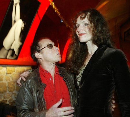 Sára Saudková s bývalým přítelem Janem Saudkem.