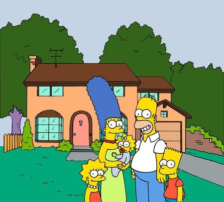 Adresa, na které Simpsonovi bydlí Groening