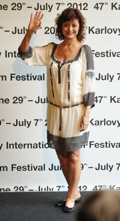 Susan zdraví fanoušky a návštěvníky festivalu v roce 2012.