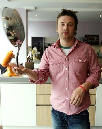 Svérázný mistr kuchař Jamie v akci