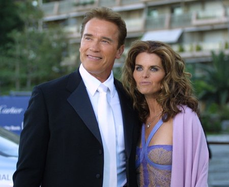 Arnold s Marií ještě v dobách, kdy jim manželství klapalo