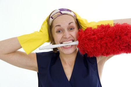 Únavné domácí práce si můžete usnadnit osvědčenými babskými radami